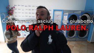 COME LAVARE GIUBBOTTO POLO RALPH LAUREN